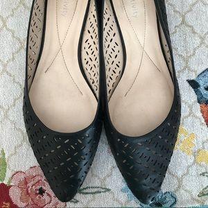 Relativity Pointy Black Shoe